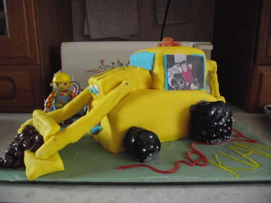 Bob the Builder birthday cake